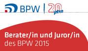 Logo des BPW 2015 für Beraterin und Jurorin Tanja Riel