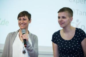 ITB Vortrag 2016 Digitale Nomaden von Referentin Tanja Riel und Sarah Lorenz