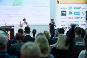 Vortrag auf der ITB eTravel Stage 2016 zum Thema Digitale Nomaden von Tanja Riel und Sarah Lorenz
